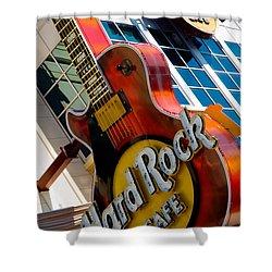 Hard Rock Cafe Niagara Shower Curtain