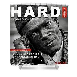 Hard Times Magazine Shower Curtain