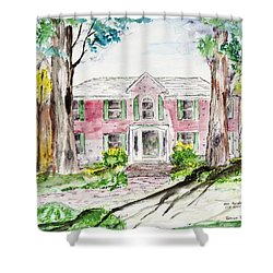 Hardaway House Shower Curtain