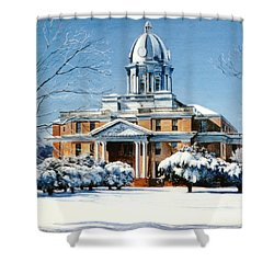 Hardin County Courthouse Shower Curtain