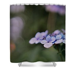 Hardy Blue Shower Curtain