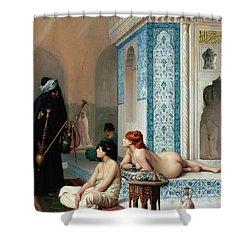 Harem Pool, Jean-leon Gerome Shower Curtain