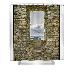 Harlech Cloud Shower Curtain by R Thomas Berner