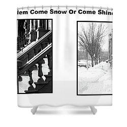 Harlem Summer Winter Shower Curtain