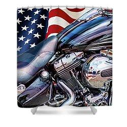 Harley-davidson 103 - B Shower Curtain