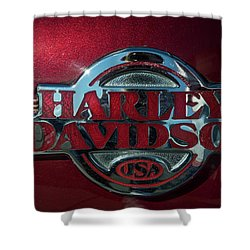 Harley Davidson 12 Shower Curtain