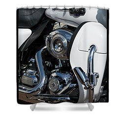 Shower Curtain featuring the photograph Harley Davidson 15 by Wendy Wilton