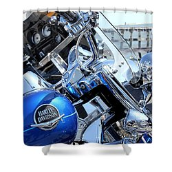 Harley-davidson Shower Curtain
