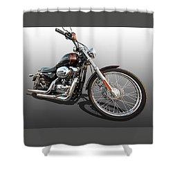 Harley Sportster Xl1200 Custom Shower Curtain