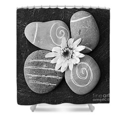 Harmony And Peace Shower Curtain by Linda Woods