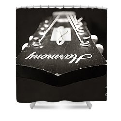 Shower Curtain featuring the photograph Harmony Head by Paul Cammarata