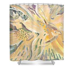 Harmony On Earth Shower Curtain