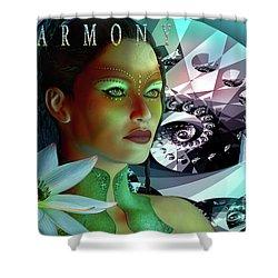 Harmony Shower Curtain by Shadowlea Is