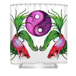 Harmony Together Shower Curtain