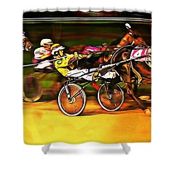 Harness Race #2 Shower Curtain