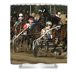 Harness Racing 9 Shower Curtain