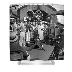 Harold Lloyd (1893-1971) Shower Curtain by Granger