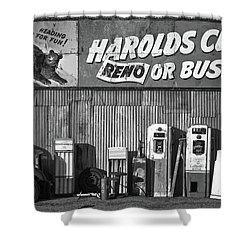 Harold's Club Shower Curtain