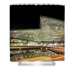 Harpa, Reykjavik Shower Curtain