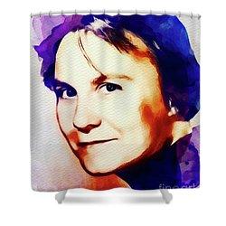 Harper Lee, Literary Legend Shower Curtain