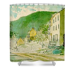Harpers Ferry West Virginia 1873 Shower Curtain