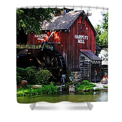 Harpers Mill Shower Curtain
