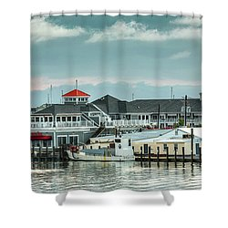 Harris Crab House Shower Curtain