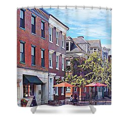 Harrisburg Pa - Coffee Shop Shower Curtain