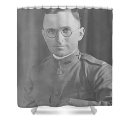 Harry Truman During World War One Shower Curtain by War Is Hell Store