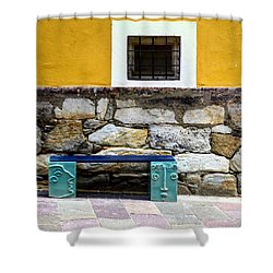 Hartberg Bench Shower Curtain