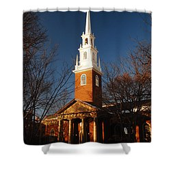 Harvard Memorial Chapel Shower Curtain by James Kirkikis