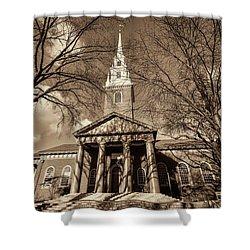 Harvard Memorial Church Shower Curtain