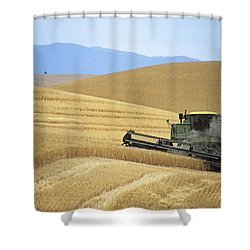 Harvest And Moscow Mountain Shower Curtain