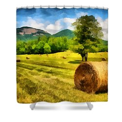 Harvest At Table Rock Shower Curtain