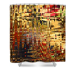 Shower Curtain featuring the photograph Harvest Dawn by Diane E Berry