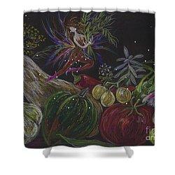 Harvest Shower Curtain by Dawn Fairies