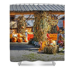 Harvest Days Shower Curtain
