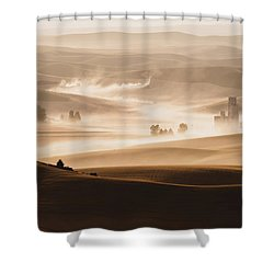 Harvest Dust Shower Curtain