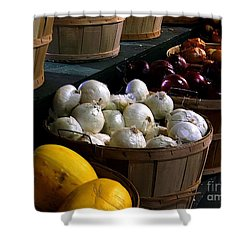 Shower Curtain featuring the photograph Harvest by Elfriede Fulda