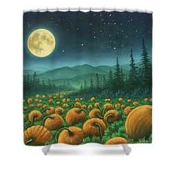 Harvest Moon 01 Shower Curtain