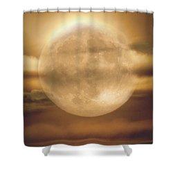 Harvest Moon 2017 Shower Curtain