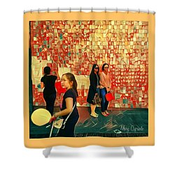 Harvest Moon Festival Shower Curtain