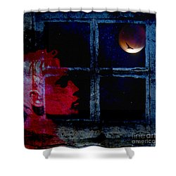 Shower Curtain featuring the photograph Harvest Moon by LemonArt Photography