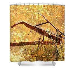 Harvest Plow Shower Curtain