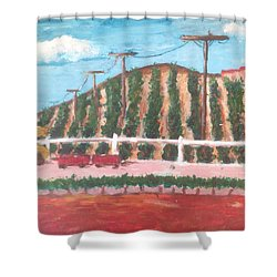 Harvest Season Temecula Shower Curtain