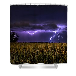 Harvest Storm Shower Curtain
