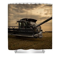 Harvest Time Shower Curtain by Jay Stockhaus
