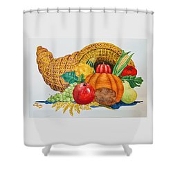 Harvest Time2  Shower Curtain