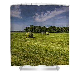 Harvested Shower Curtain