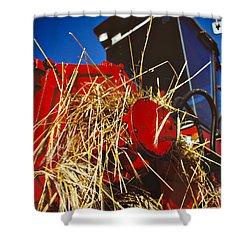 Harvesting Shower Curtain by Meirion Matthias
